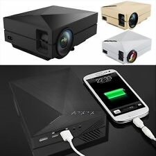 7000Lumens Full HD1080P LED LCD 3D VGA HDMI TV Home Theater Projector Cinema OUY