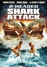 FREE US SH (int'l sh=$0-$3) USED DVD 2 Headed Shark Attack~,