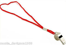 1 Metal Whistle & Lanyard Emergency Survival, Party's