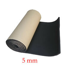 2Roll 5mm Car Auto Sound Proofing Deadening Insulation Closed Cell Foam 50X100CM