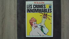 BD Les crimes innommables - Willem - L'echo des savanes - 04/1983 EO