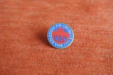 17667 PIN'S PINS RALLY FOR CHILDREN ASSOCIATION UNICEF NEW YORK CITY 1990