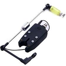 Carp Fishing Bite Alarm & 1 Memory LED Tone + Hanger Swing Bite Indicators