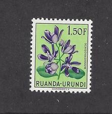 RUANDA - URUNDI - 124 - 132 - MLH - 1953 - FLOWERS