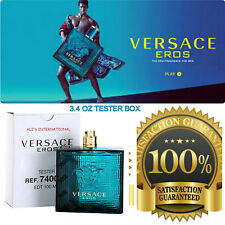 VERSACE EROS Cologne for Men EAU DE TOILETTE 3.4 OZ BRAND NEW IN WHITE BOX