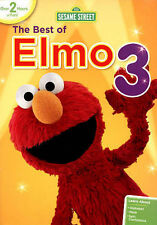 NEW GENUINE WB DVD SESAME STREET BEST OF ELMO VOL 3 FREE FAST 1ST CLS S&H