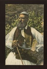 Greece Shepherd in Greek traditional dress c1900/10s? PPC
