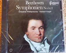 Beethoven: Sinfonien 1 & 2 /Herbert Kegel  -Capriccio CD