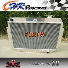 3ROW Aluminum Radiator for HOLDEN Kingswood HG HT HK HQ HJ HX HZ V8 Chev engine