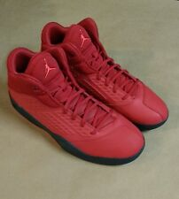 Nike Jordan New School Mens 768901-623 Gym Red Black Basketball Shoes Size 12