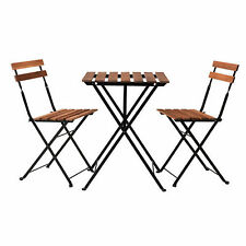Small Timber Folding Portable Outdoors Picnic BBQ Table and Chair
