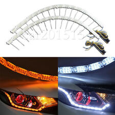 Headlight Retrofit Switchback LED Strip Lights w/ Sequential Turn Signal