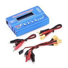 80W Multi-function 1-6 Cells XT60 LiPo Battery Digital Balance Charger BY