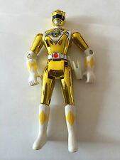 "Power rangers ninja film jaune chrome 8"" red ranger"
