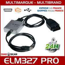 Interface diagnostic multimarque ELM 327 PRO USB OBD2 V1.5 + Logiciel FR ELM327