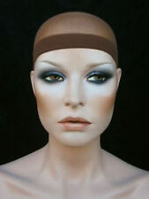 BROWN  Wig cap to prevent slippage secure hair under wig