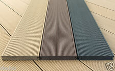 Composite Decking Boards, Solid 4m 150x25mm WPC Decking At £27.60 Each Inc. VAT