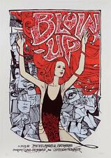 BLOW-UP VERUSHKA VARIANT MOVIE POSTER LIMITED EDITION SCREEN PRINT BY MALLEUS