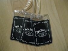 Jack Daniel's Luggage Tags - Vintage Playing Card Daniels Whiskey Name Tag Set 3