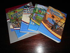 Abeka Reading Grade 4 Readers and answer key homeschooling lot of 5 4th grade