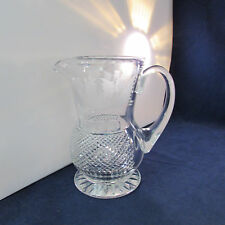 Edinburgh Crystal THISTLE Pitcher / Jug