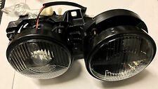 BMW E34 Headlights Pair HELLA DARK style Headlight Lights Smoke Smoked Black M5