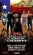 "Official TNA Impact Wrestling Lockdown 2013 11x17"" Advertising Bill Poster"