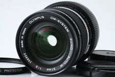 """Near Mint"" Olympus OM System Zuiko Auto-W 21mm f/2 Lens From Japan"