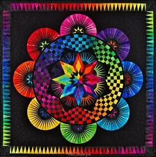 Circle Of Life Paper Pieced Quilt Pattern Be Colourful Jacqueline de Jonge DIY