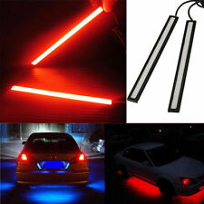 2pcs 12V LED COB Car Auto DRL Driving Daytime Running Lamp Fog Light Red 17cm