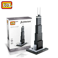 LOZ John Hancock Center world famous building Diamond Mini Building Blocks Toys