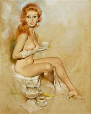 "Vintage Pin Up 11 x 14""  Photo Print"