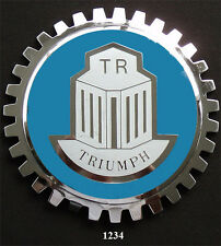 CAR GRILLE EMBLEM BADGES - TRIUMPH