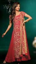 Anarkali BOLLYWOOD Lehanga Choli CHURIDAR INDIAN DESIGNER SUIT Salwar Kameez