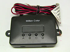 Million Color LED Under Glow 5050 Replacement Parts -  Control Box & Remote Only