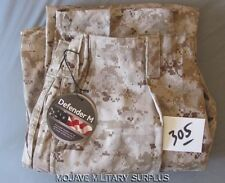 NWT USMC Desert Digital Frog Pants FRC FIRE RESISTANT SIZE:  MEDIUM REGULAR MR