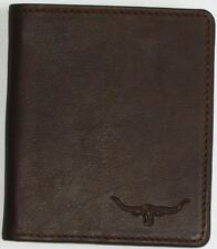RM Williams Kangaroo TriFold Wallet  Black