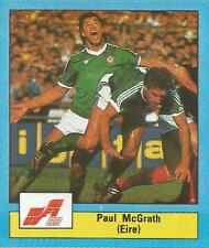 MATCH MAGAZINE-EURO 1988-EIRE & MANCHESTER UNITED-PAUL McGRATH