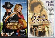 Strawberry Summer (DVD, 2013) & Sweet Dreams (DVD, 1999) 2 Country Music Themed