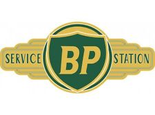 NEW BP Service Station tin metal sign
