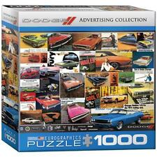 New - JIGSAW PUZZLE - Dodge Classic Cars - 1000 PIECES - Eurographics