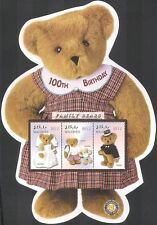 Maldives 2002 Teddy Bear/Family Bears/Teddies/Toys/Costumes 4v sht (s5456e)