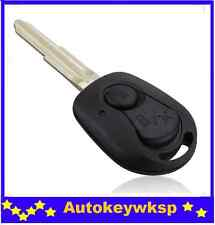 2 BUTTON Remote Key Case fob SHELL Suit Ssangyong Actyon SUV Kyron Rexton