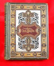 In drei Stufen - Eine Sammlung Gedichte hrsg. von Erich Frommel, 1890