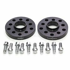 20mm Hubcentric Spacers for Audi TT, S3, A3 with RADIUS BOLTS 5x100 and 5x112