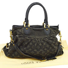 AUTHENTIC LOUIS VUITTON NEO CABBY MM 2WAY HAND BAG MONOGRAM DENIM M95351 RK11785
