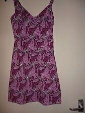 Vintage retro 60s Topshop pink white mod mini dress