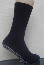 1 Paar Herren Stoppersocken Socken mit ABS Sohle Noppensohle blau 47 bis 50