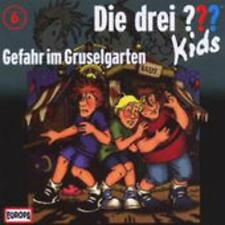 Die drei ??? Kids 06. Gefahr im Gruselgarten (drei Fragezeichen) - CD
