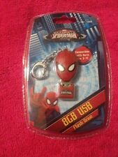 Sakar The Amazing Spider Man  8GB  USB Flash Drive Mac/PC ~ Key Chain